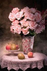 flowers and fruit flowers with fruit still photograph by tom mc nemar