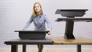 amazon com riser standing desk converter by uplift desk kitchen