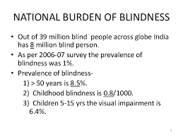 Icd 9 Blind National Programme For Control Of Blindness