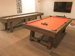 rustic pool table lights inspiring weathered pool table rustic oak wood accessories on of