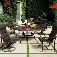 Ravello Padded Sling Patio Furniture By Tropitone - Tropitone outdoor furniture