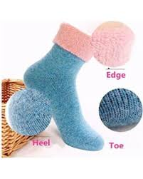 Winter Deals On S Winter Deals On New 5 Pairs S 80 Sheep Wool Winter Knit
