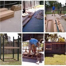 diy backyard playground outdoor furniture design and ideas
