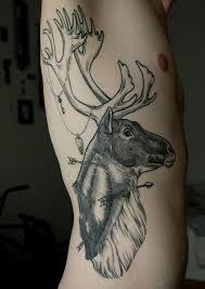 52 beautiful deer tattoos and designs