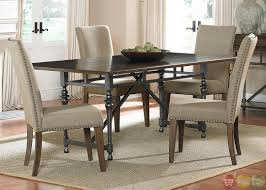 casual dining room tables ivy park modern farmhouse casual dining room set