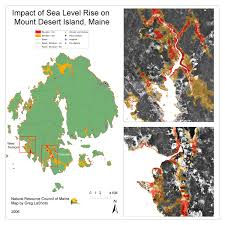 University Of Maine Map New Sea Level Rise Forecast Is Alarming Here Are 10 Maps Showing