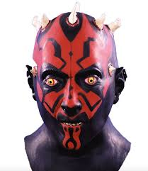 scary masks scary masks for adults wars darth maul scary mask