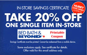 Online Coupon Bed Bath And Beyond Bed Bath And Beyond Canada Medidas De Cajones De Estacionamiento