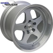 17x10 mustang wheels 17x10 silver sc replica 94 04 mustang
