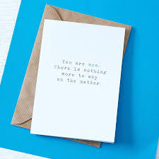 you are ace greetings card by slice of pie designs