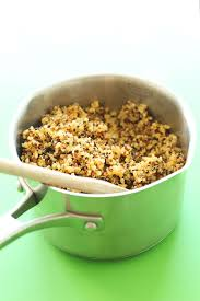 quinoa thanksgiving stuffing quinoa taco meat minimalist baker recipes