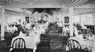 Titanic First Class Dining Room Franconia U0026 Laconia 1912 First Class Accommodations Part 2 Gg