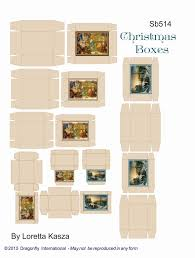 christmas box sheets