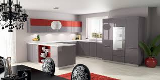 meuble cuisine taupe cuisine taupe luxe photographie cuisine moderne pas cher beau