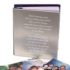 personalized wedding photo album gifts