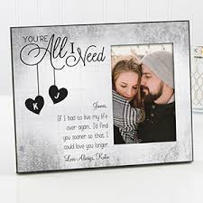 personalized picture frames for couples