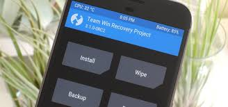 android best twrp 101 how to install the best custom recovery for android
