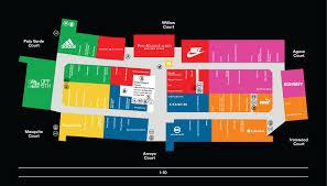Maps Phoenix Phoenix Premium Outlets Map Phoenix Premium Outlet Map Arizona