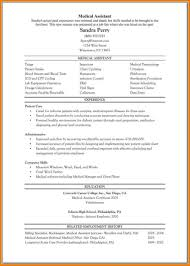 free resume template accounting clerk tests for diabetes professional medical resume assistant sle cover lette sevte