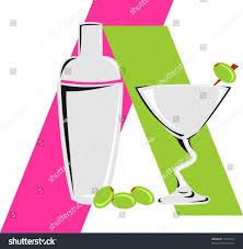 martini shaker clipart martini shaker glass olives stock vector 17225923 shutterstock