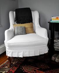Armchair Slip Cover Slipcover For Chair Home Ideas 2016