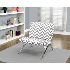Grey And White Accent Chair Corliving Mod Modern Grey And White Bonded Leather Accent Chair
