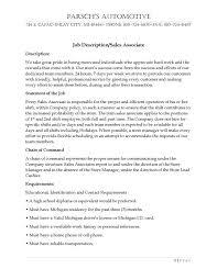 Customer Service Associate Job Description Resume by Surprising Gas Station Cashier Job Description For Resume 42 About
