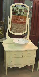 Shabby Chic Bathroom Sink Unit Bathroom Vanity From Old Dresser Antique Bathroom Vanity Shabby