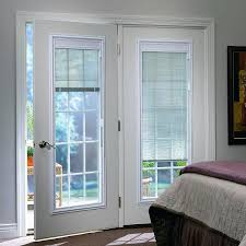 french doors exterior with built in blinds photo 10 upvc french