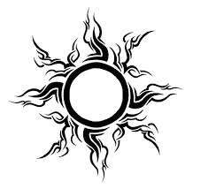 tribal sun by gsaw on deviantart