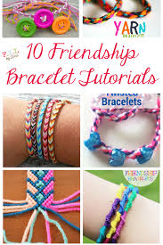 10 friendship bracelet tutorials u2022 fyi by tina diy u0026 crafts