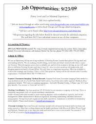 Sample Resume For Entry Level Job 100 Resume Entry Level Download Example It Resume Resume