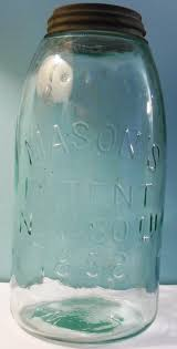 mason u0027s patent nov 30th 1858 fruit jars