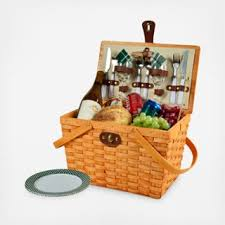 picnic gift basket 2 person frisco picnic basket zola