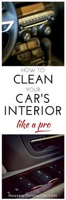 home remedies for cleaning car interior 5 tips for your diy car repair cars cleaning and car cleaning