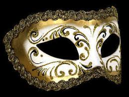 gold masquerade mask decor era masquerade masks white gold for men or women simply