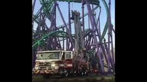 Six Flags Pg County Two Dozen Riders Get Stuck On Six Flags Roller Coaster In Maryland