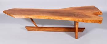 george nakashima coffee table to feature at kaminski modern design