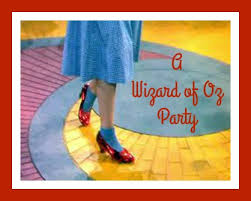 Wizard Of Oz Party Decorations Wizard Of Oz Birthday Party Ideas