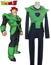 dragonball z android no 16 cosplay anime character costume