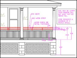 Banister Railing Code Exterior Railing Height Code How Do I Meet Height Gapping Code