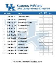 best 25 kentucky wildcats football schedule ideas on