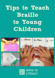 How Do Blind People Read Braille Teaching Braille Literacy To Young Children Who Are Blind Or