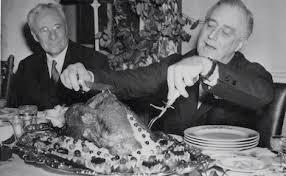 franklin roosevelt celebrates franksgiving er thanksgiving new