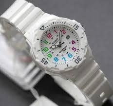 Jam Tangan Casio Karet jam tangan casio wanita lrw 200 original tali karet