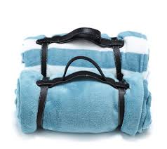 Cozee home 2 pack fleece travel blankets with carry handle page