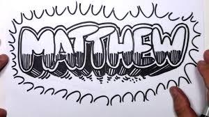 drawings of letters in graffiti wall graffiti art