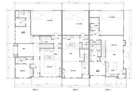 100 triplex house plans vista gardens small multi unit
