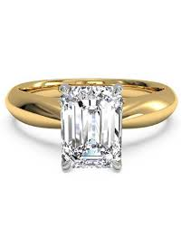 15000 wedding ring emerald cut engagement rings