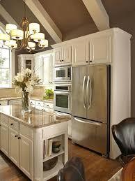 Cream Colored Kitchen Cabinets With White Appliances Cream Kitchen Cabinets With White Countertops Walls U2013 Strima